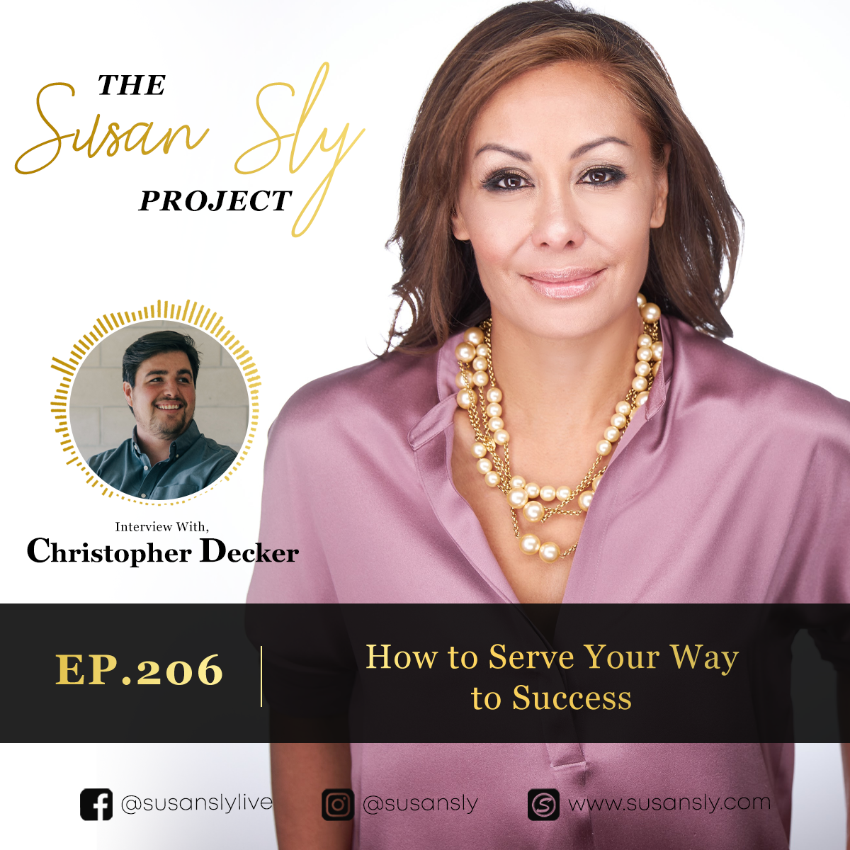 206. How to Serve Your Way to Success – Interview with Christopher Decker