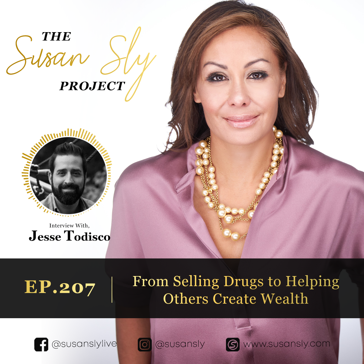 207. From Devastation to Helping Others Create Wealth – Interview With Jesse Todisco