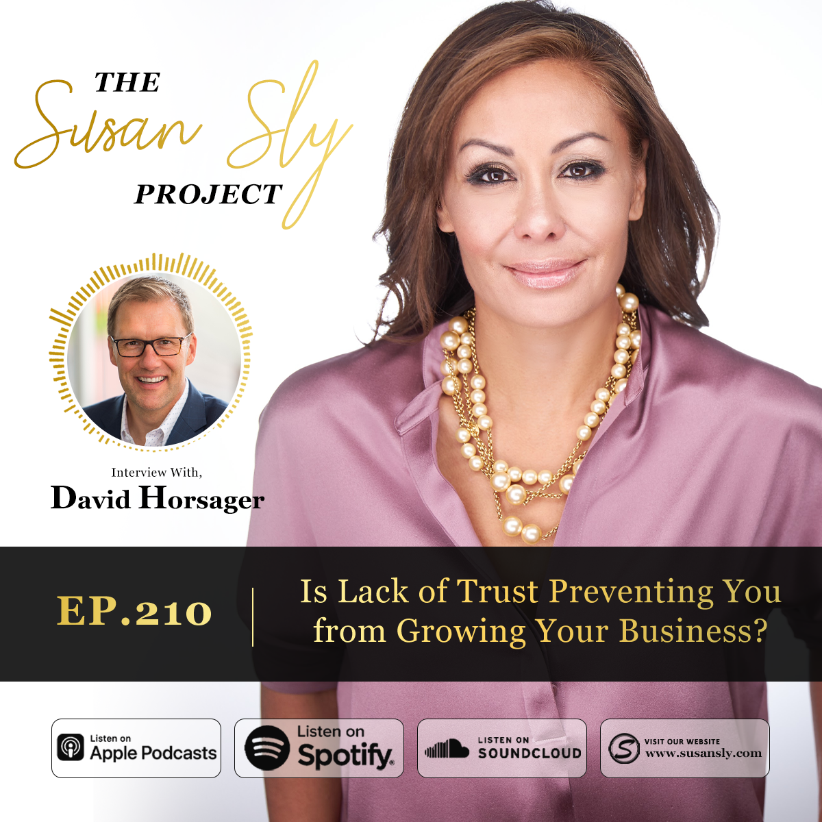 210. Is Lack of Trust Preventing You from Growing Your Business? – Interview with David Horsager