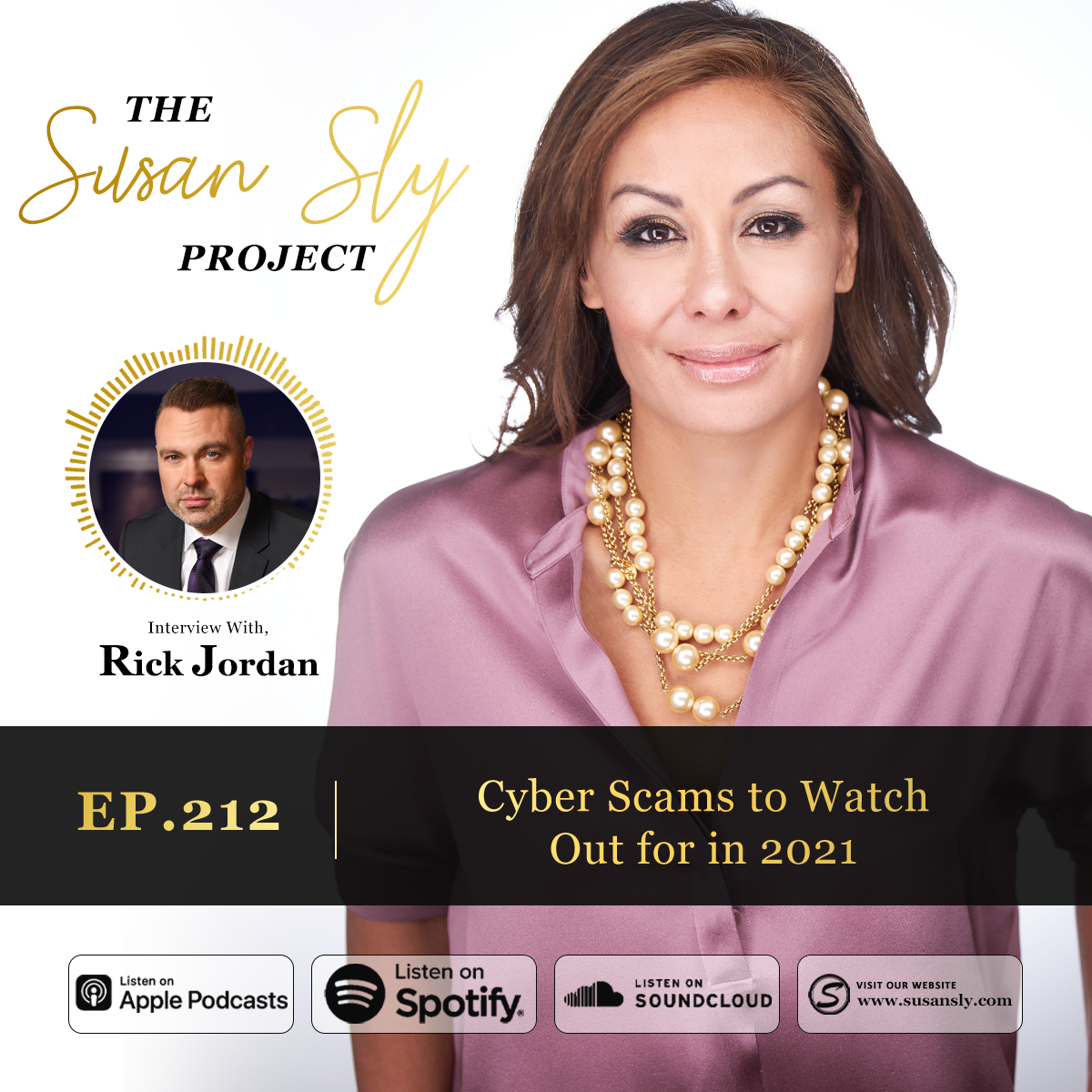 212. Cyber Scams to Watch Out for in 2021 – Interview With Rick Jordan