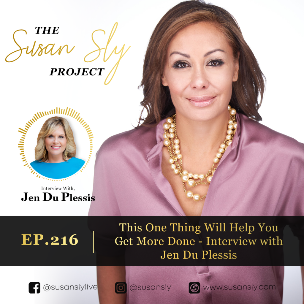 Susan Sly Podcast Interview with Jen Du Plessis