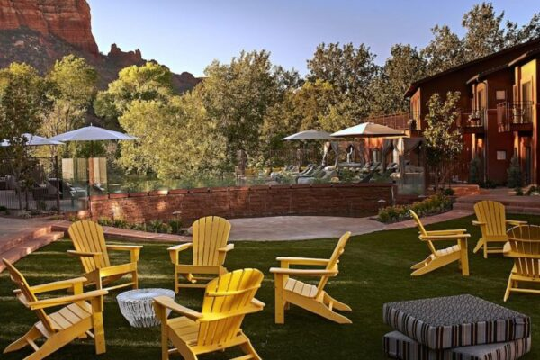 Social area at Amara Resort