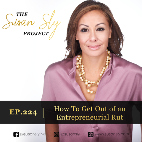 How to get out of an entrepreneurial rut